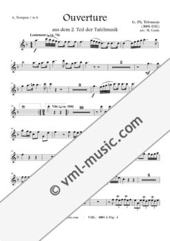 Telemann - Tafelmusik