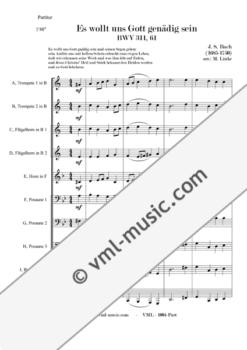 Bach - BWV 311/69 - Es wollt uns Gott